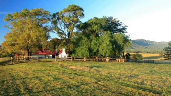 140 year old Hunter Valley acreage listed for sale