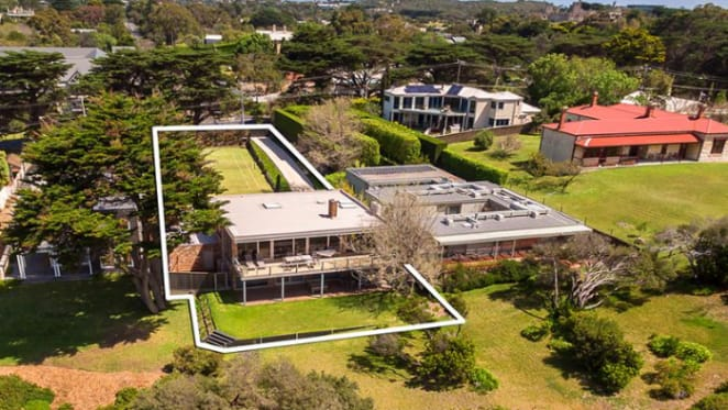 Entrepreneur Jeremy Cutts buys on Portsea clifftop