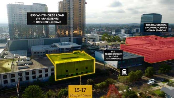 Prime Box Hill site to fetch $10 million