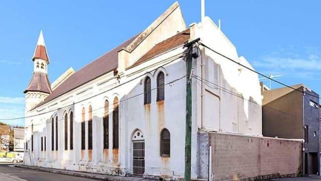 Estate agent buys Redfern Uniting church