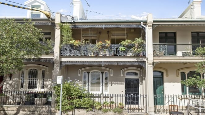 Art dealer Rex Irwin lists Surry Hills terrace