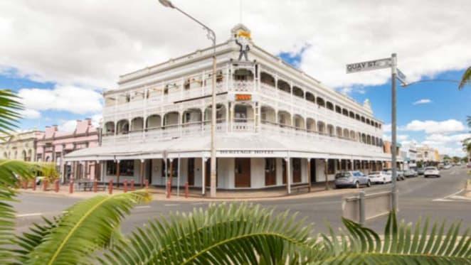 Heritage Hotel in Queensland's Rockhampton up for sale