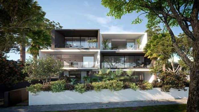 Multipart Property's prestige Rose Bay project