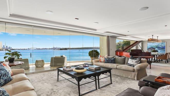UK barrister Georgina Black buys Indah on Rose Bay harbourfront?