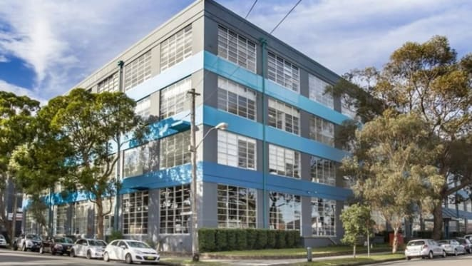 Office showroom in Sydney's Rosebery sells for a shade under $400,000