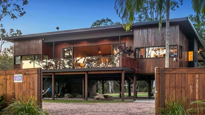 Songwriter Xavier Rudd reprices northern NSW retreat