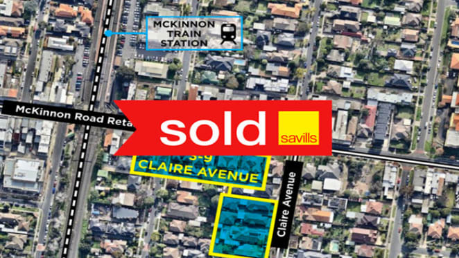 Six McKinnon neighbours sell combined residential development site for $8.88 million