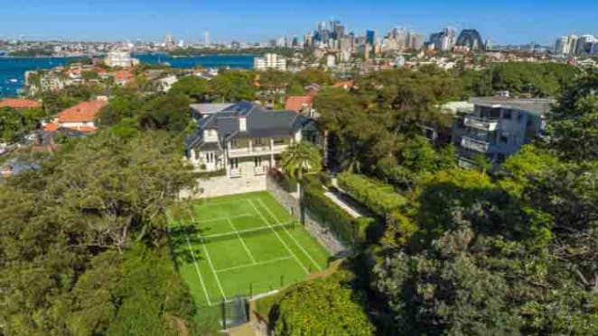 Glencairn, the Neutral Bay trophy home listed by Origin's Grant King