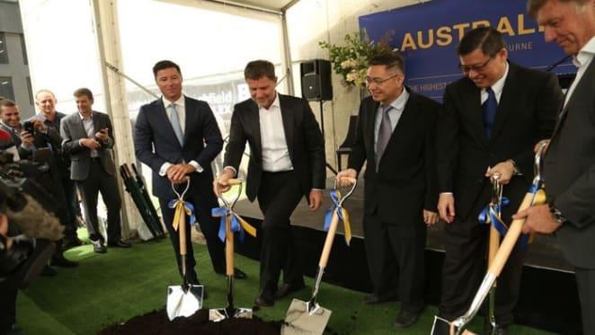 Australia 108 ground breaking ceremony