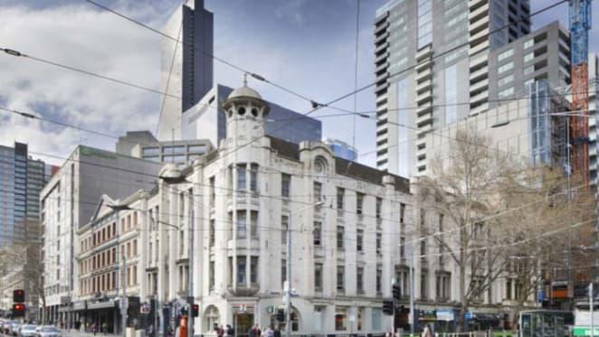 Art nouveau Spencer Street, Melbourne corner offering through Savills