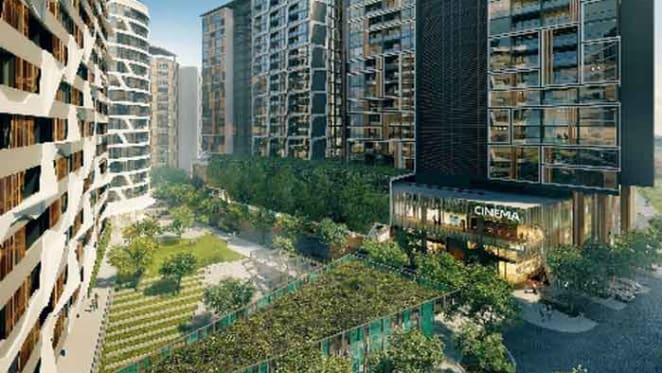 South City Square announces $190m in sales