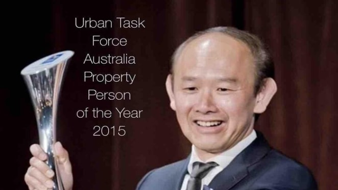 Iwan Sunito named property person of 2015 by Urban Taskforce