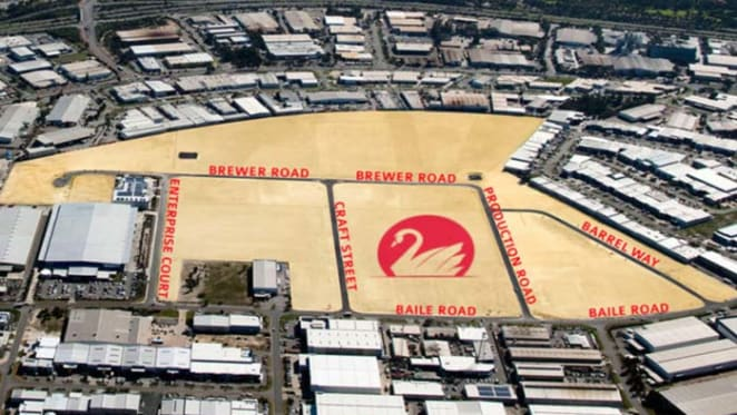 Raine & Horne Commercial selling Perth industrial land on Swan Brewery estate