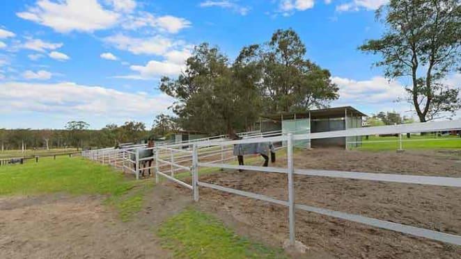 Retired racecaller John Tapp sells Ebenezer equestrian property