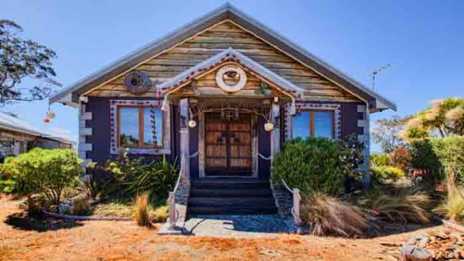 Tasmanian beach house still on the market