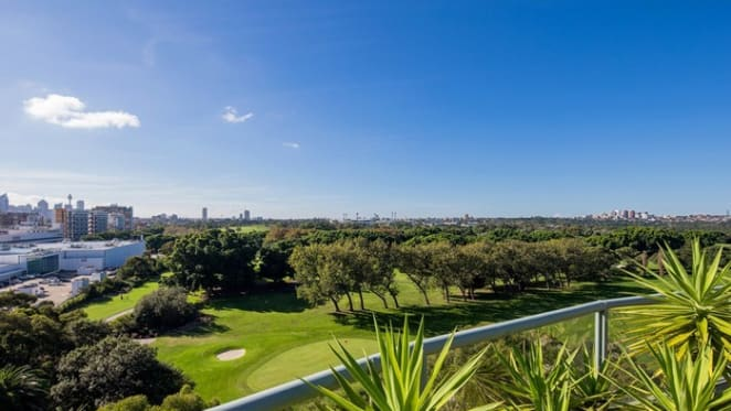 Tennis stars Lesley and Bill Bowrey list penthouse