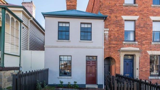 1840s Hobart terrace offering sells after Sydney architect makeover