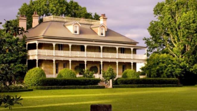 Georgian-style Terrara House on NSW south coast for sale