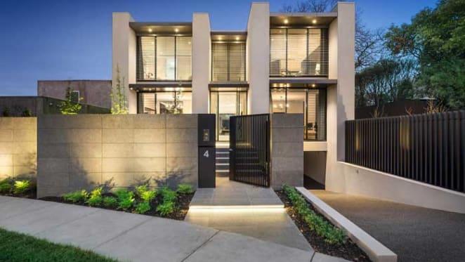 Drew Cole designed home sells in Toorak
