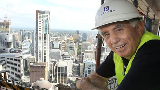 Meriton chief Harry Triguboff tops BRW rich list for the first time