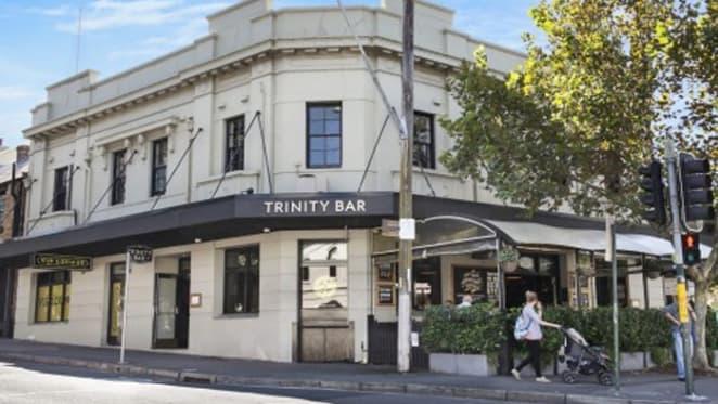Trinity Bar, Surry Hills sells at $8.5 million