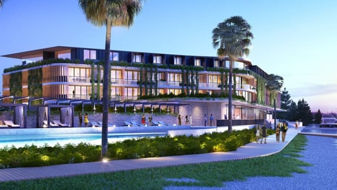 $10 million land sales at Trinity Point during launch