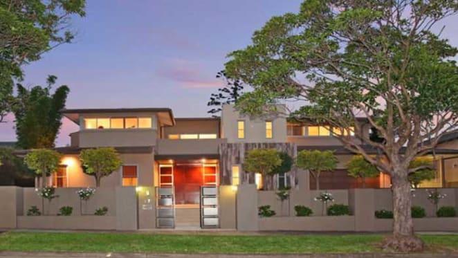 Strathfield Frank Lloyd-Wright inspired mansion listed