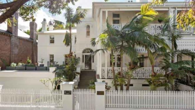 1870s Italianate villa listed in Elizabeth Bay