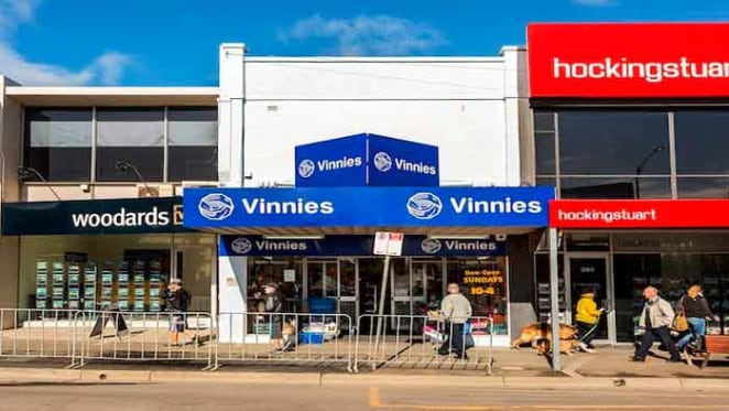 Triple-fronted Bentleigh retail investment leased to Vinnies sold