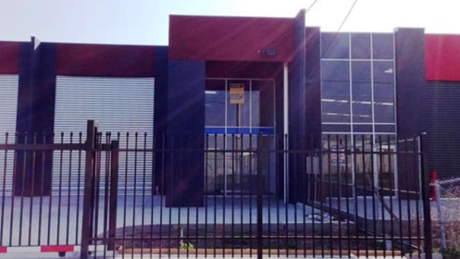Affordable warehouse on the market via Raine & Horne in Victoria's Sunshine North