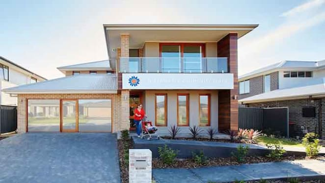 8 star energy-efficient home by Stockland at Denham Court