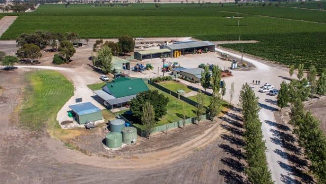 South Australia's Howcroft Estate Vineyard listed