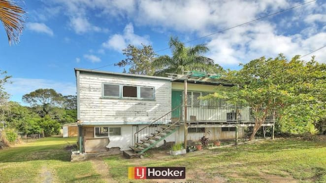 Brisbane's cheapest home - a two bedroom timber Woodridge house sold for $241,000