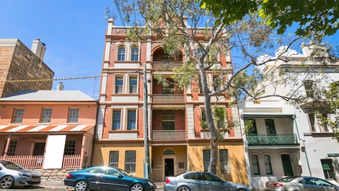 Sydney's first walk-up block of flats for sale in Millers Point