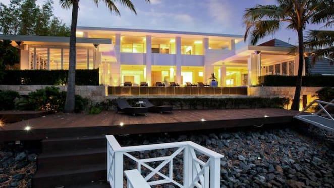 Developer James Rice lists Broadbeach Waters trophy home for $9.99 million