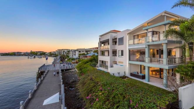 Riverfront Catalina, Teneriffe house, Catalina, sold for $4.8 million