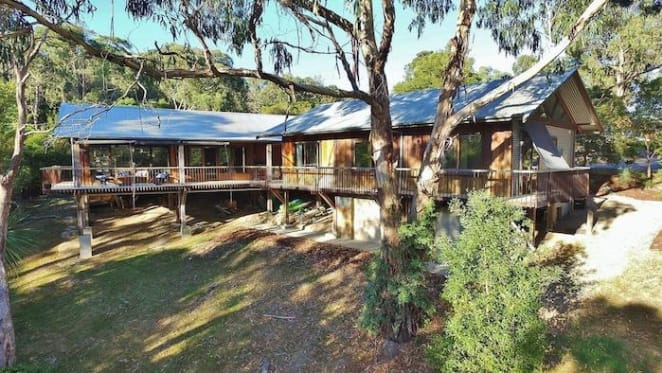 Industrial-designed Healesville house listed for above $950,000
