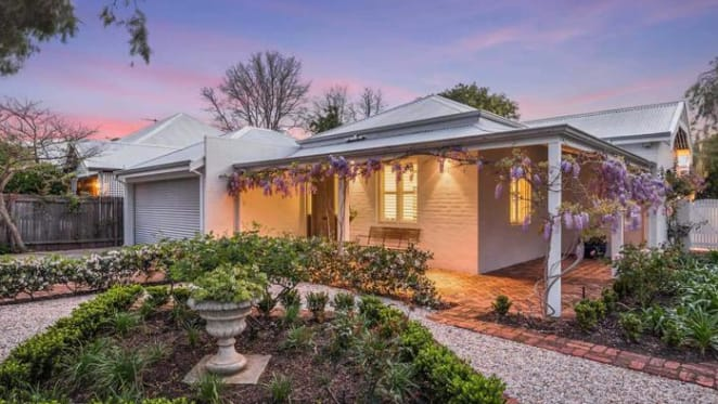 Neil Robertson-designed home in Paul Bangay gardens at Peppermint Grove