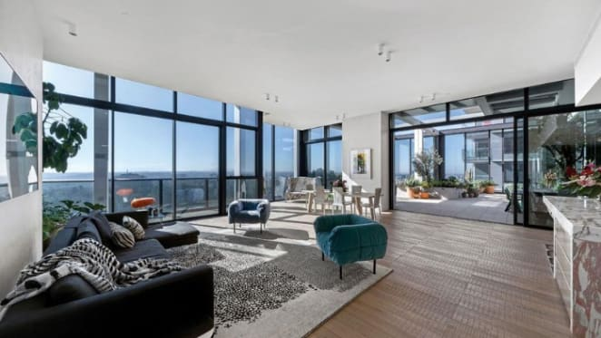 Businessman Greg Hargrave lists mansion-style Melbourne CBD apartment