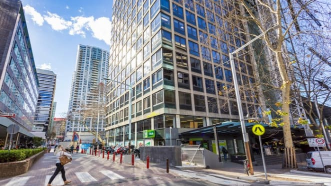 Propertylink has divested a North Sydney office tower for a 58% return