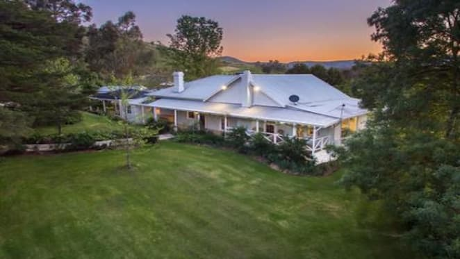 Restored 1870s Strath Creek trophy home, the Aislinn, listed for sale