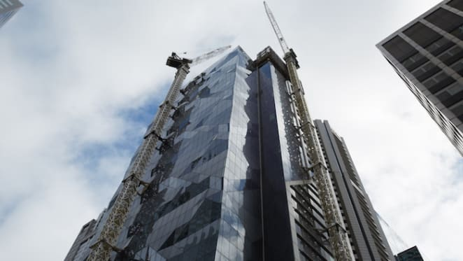 Multiplex tops out QIC's Collins Street tower