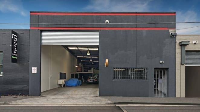 Modern Cremorne, Melbourne warehouse listing on CBD fringe