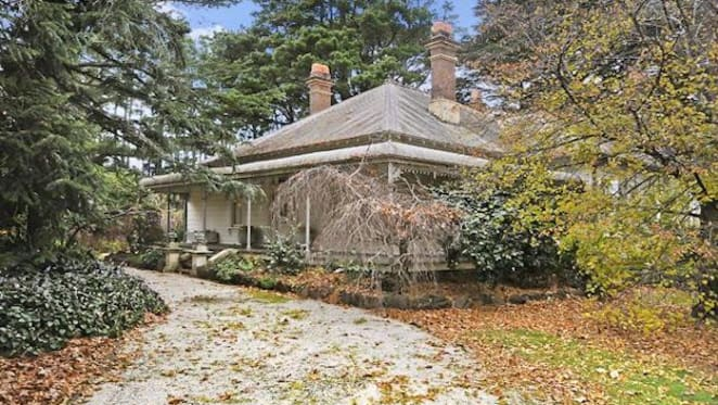 Historic weatherboard Wentworth Falls house listed for $3.5 million