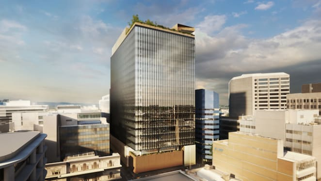 Plans revealed for new $300 million Adelaide CBD office project