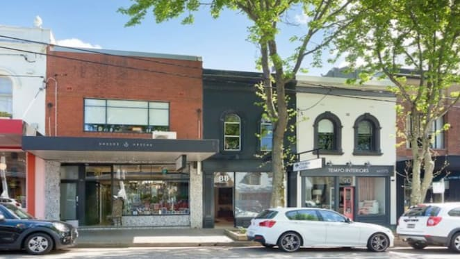 Narrow Queen Street, Woollahra shop listed for $4.6 million