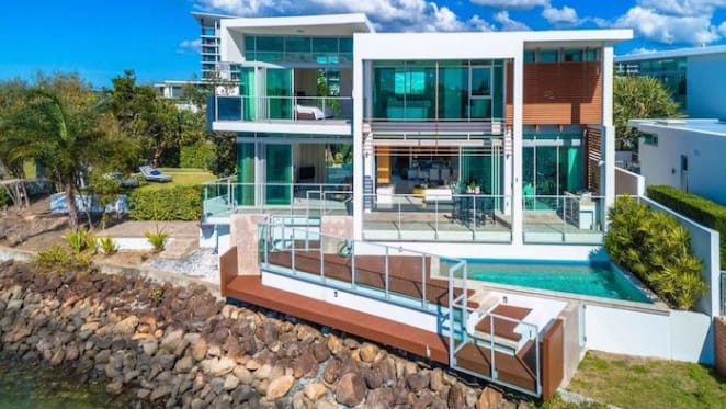 Oceanfront Paradise Point trophy home sold