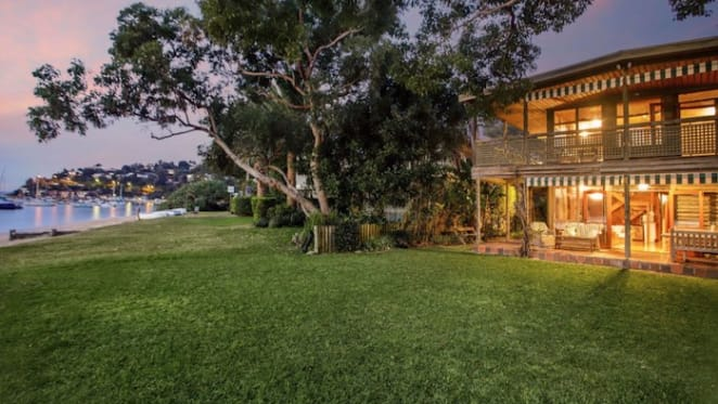 Iluka Road, Palm Beach log cabin sells for $8.25 million at auction