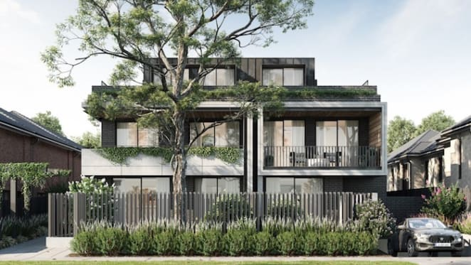 Luxury development within Melbourne's 'Golden Triangle'