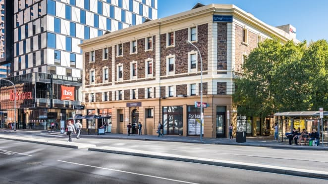 Commercial building in Adelaide CBD up for sale